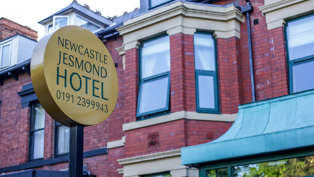 Newcastle Jesmond Hotel with Online Booking option